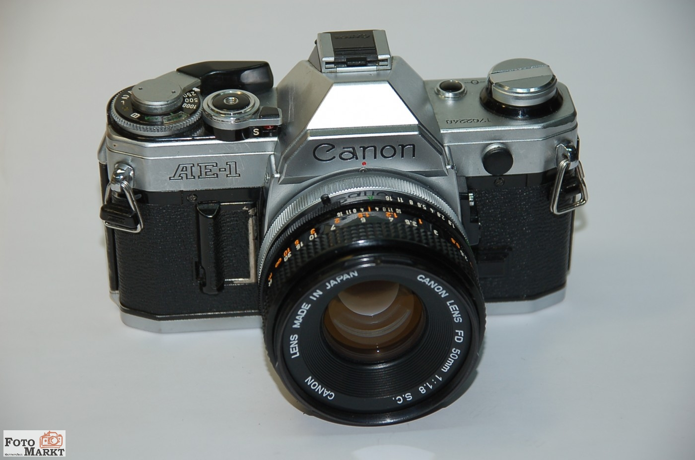Canon ae 1 objectif fd nex 1 8 50mm s for Objectif miroir 50mm