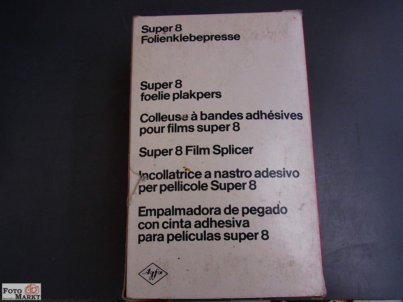 Instructions cine movie editor PRINZ OXFORD 800 super8 UK German French-CD//Email